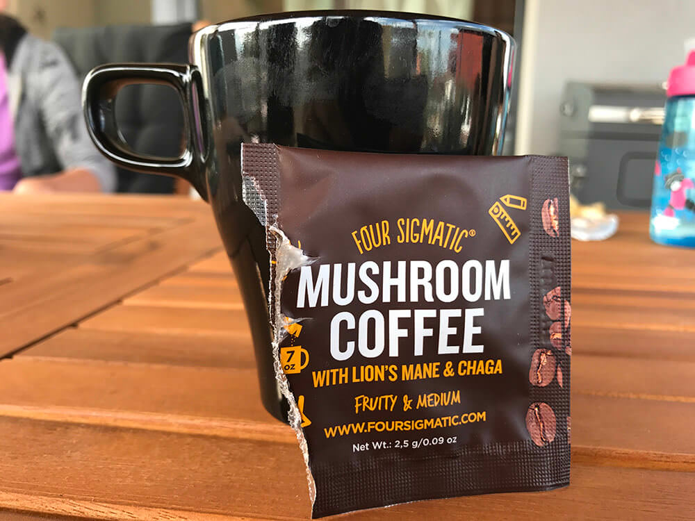 Káva Four Sigmatic Mushroom Coffee